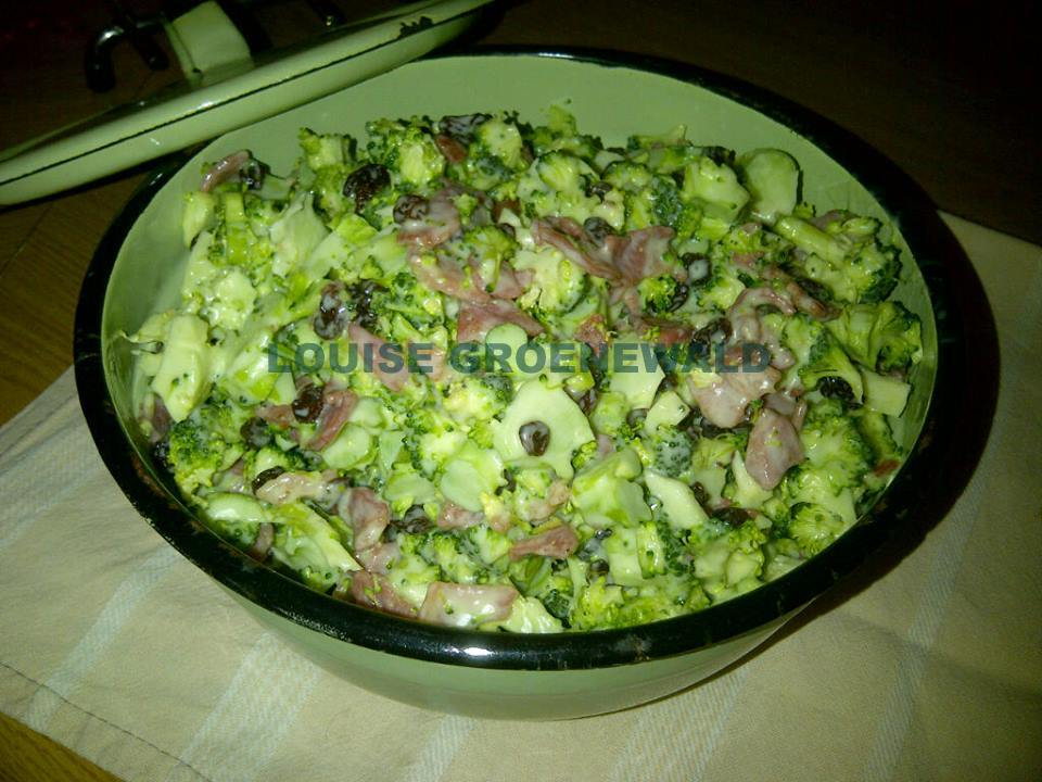 Broccoli En Ontbytspek Slaai Your Recipe Blog