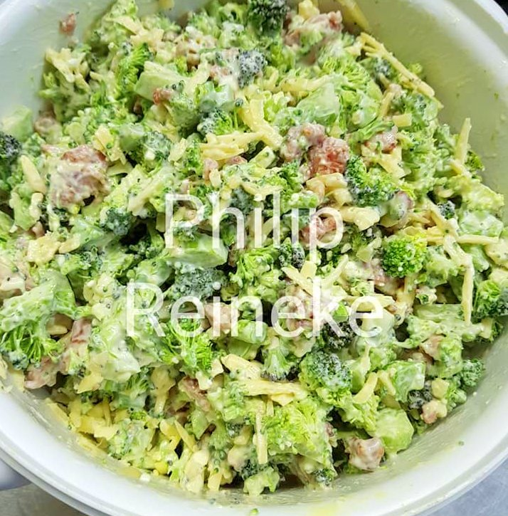 Broccoli Salad With Bacon Your Recipe Blog